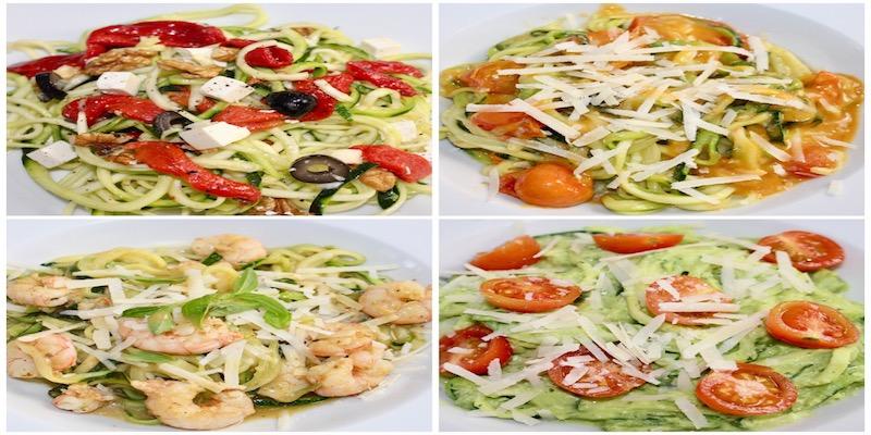 4 deliciosas recetas de espaguetis de calabacín