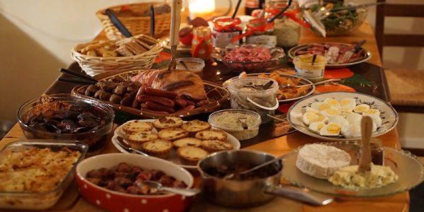 Cena fiestas