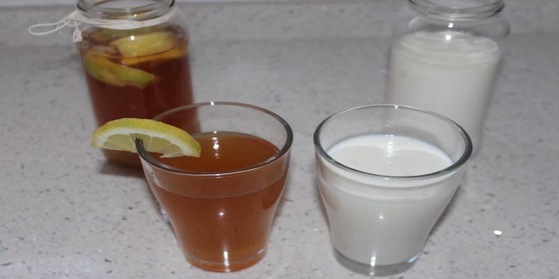 Propiedades y beneficios del kéfir de leche y kéfir de agua