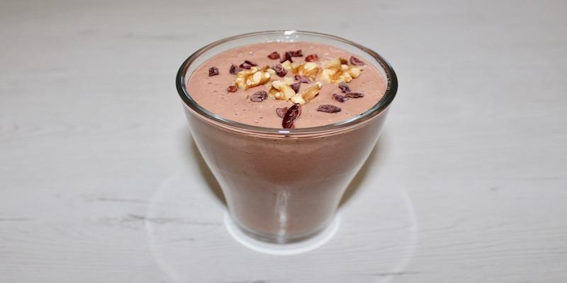 Smoothie de cacao