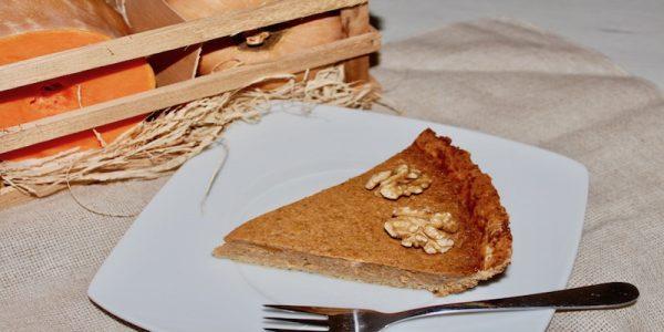 Deliciosa tarta de calabaza ligera y saludable