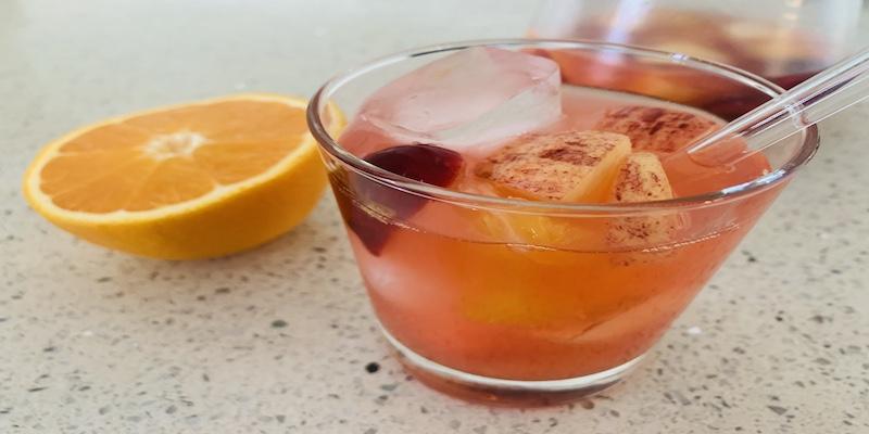 Refresco de Limonada con frutas